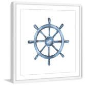 Marmont HIll Steering Wheel Framed Print