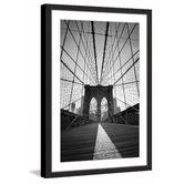 Marmont HIll Brooklyn Bridge II Framed Print