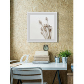 Marmont HIll Striped Flower Framed Printed Wall Art