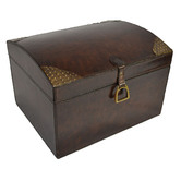 Kundra Tapper Leather Box with Stirrup