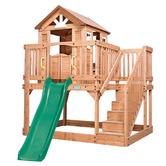 Lifespan Kids Backyard Cubby House with Slide