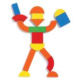 Djeco Kids' Geoform Magnetic Piece Set