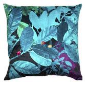 Luxotic Teal Ghost Velvet Cushion