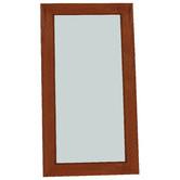La Verde Kera Wooden Frame Mirror