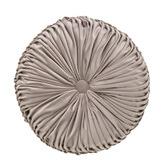 Bianca Taupe Balerno Round Cushion