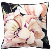 Bianca Blush Tazanna Floral Velvet Cushion