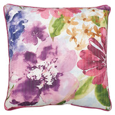 Bianca Floral Zoey Piped Cushion