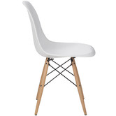 Milan Direct Eames Replica DSW Side Chairs