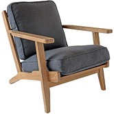 Naturally Provinicial Modern Classic Leisure Armchair