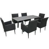 Naturally Provinicial Stockton Outdoor Dining Table