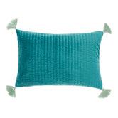 Linen House Drew Velvet Cushion