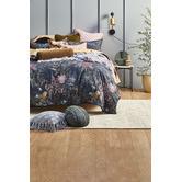 Linen House Enrique Velvet Bolster Cushion