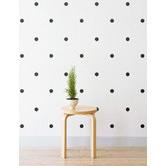 Little Sticker Boy Mini Polka Dots Wall Decal