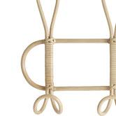 Hyde Park Home Bethan 3 Hook Twist Rattan Wall Hanger