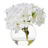 The Home Collective 23cm Potted Faux Hydrangea Plant