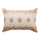 Canvas & Sasson Ipanema Cassis Cotton & Linen Cushion