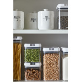 Ecology 3 Piece Staples Foundry Porcelain Canister Set