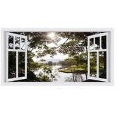 OasisEditionsAustralia Bellingen Window Stretched Canvas