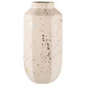 Zakkia Confetti Carved Ceramic Vase