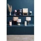 Zakkia Curved Confetti Carved Ceramic Vase