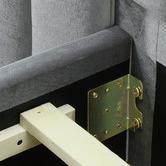 VIC Furniture Aurora Velvet Bedroom Set