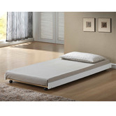 VIC Furniture Leo Wooden Bed with Trundle