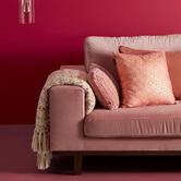 Bedding House Foil Print Wavey Cushion