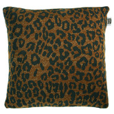 Bedding House Brown Tigerlily Cushion