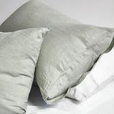 Vintage Design Sage Linen Quilt Cover Set