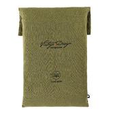 Vintage Design Fern Hemp Quilt Cover Set