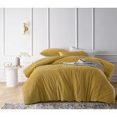 Vintage Design Gold Harmony Cotton Velvet Quilt Cover Set