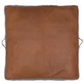 Amigos de Hoy Square Leather Floor Cushion