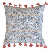 Amigos de Hoy Aqua Hawkwind Cotton Cushion Cover