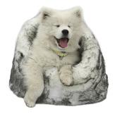 T&S Pet Products Lux Faux Fur Arctic Pet Igloo