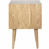 Temple & Webster Natural Olsen 1 Drawer Bedside Table