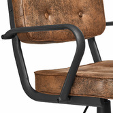 Temple & Webster Hugo Retro Home Office Chair