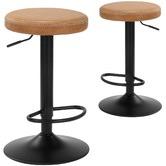 Temple & Webster Elwood Adjustable Barstools