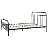 Temple & Webster Black Bailey Metal Bed Frame
