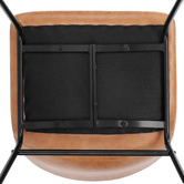 Temple & Webster Phoenix Vintage-Style Faux Leather Dining Chairs