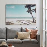 Temple & Webster Surfer's Rest Framed Canvas Wall Art