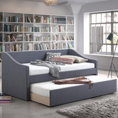 Temple & Webster Armidale Single Sofa Daybed with Trundle
