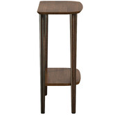 Temple & Webster Frida Console Table with Shelf