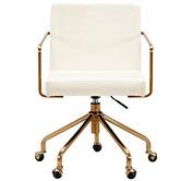 Temple & Webster Camden Velvet Home Office Chair