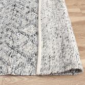 Temple & Webster Grey Maddox Hand-Woven Indoor/Outdoor Rug