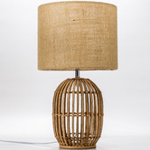 Temple & Webster 54cm Natural Havana Rattan Table Lamp