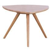 Temple & Webster Oscar Solid Oak Side Table