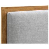 Temple & Webster Natural & Grey Stella Bed