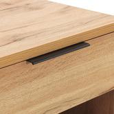 Temple & Webster Oak Finish Jackson Bedside Table