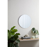 Temple & Webster Tate Round Frameless Wall Mirror