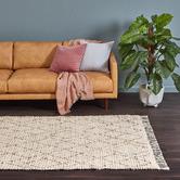 Temple & Webster Watson Hand-Woven Cotton-Blend Rug